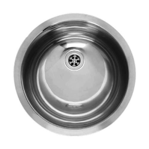 AMAZONE Round Bowl Inset Kitchen Sink