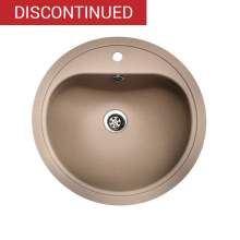 Regi-Color ATLANTIS Round Bowl Kitchen Sink - Sahara Sand