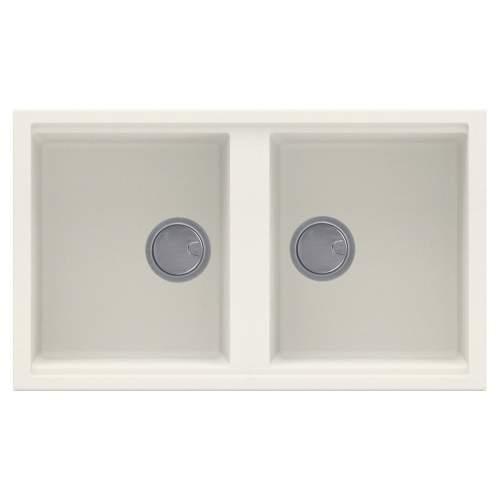 Best 450 2.0 Bowl Inset Granite Kitchen Sink - Cream