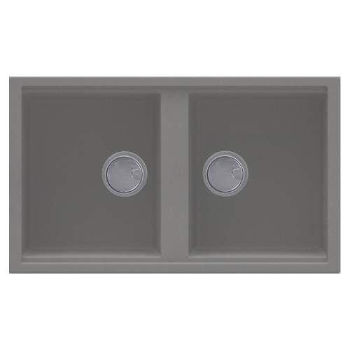 Best 450 2.0 Bowl Inset Granite Kitchen Sink - Grey