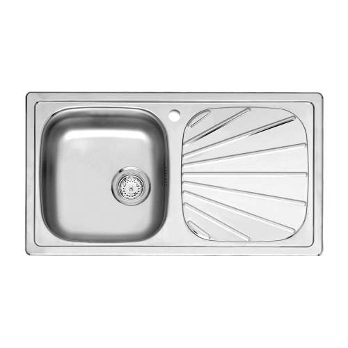 BETA 10 Single Bowl Kitchen Sink with Drainer