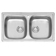 BETA 20 Double Bowl Kitchen Sink
