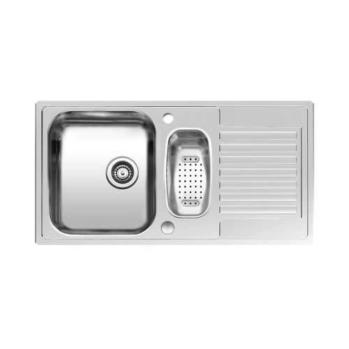 CENTURIO R 1.5 Bowl Inset Kitchen Sink