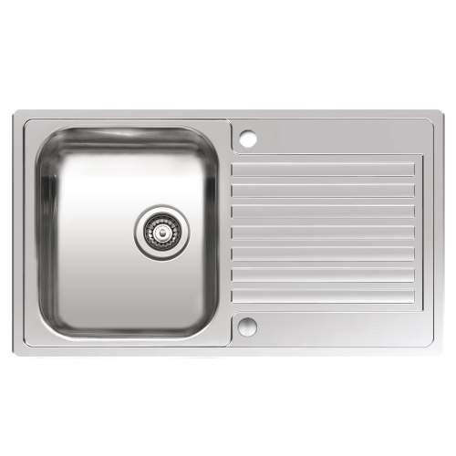 CENTURIO R 10 Single Bowl Kitchen Sink