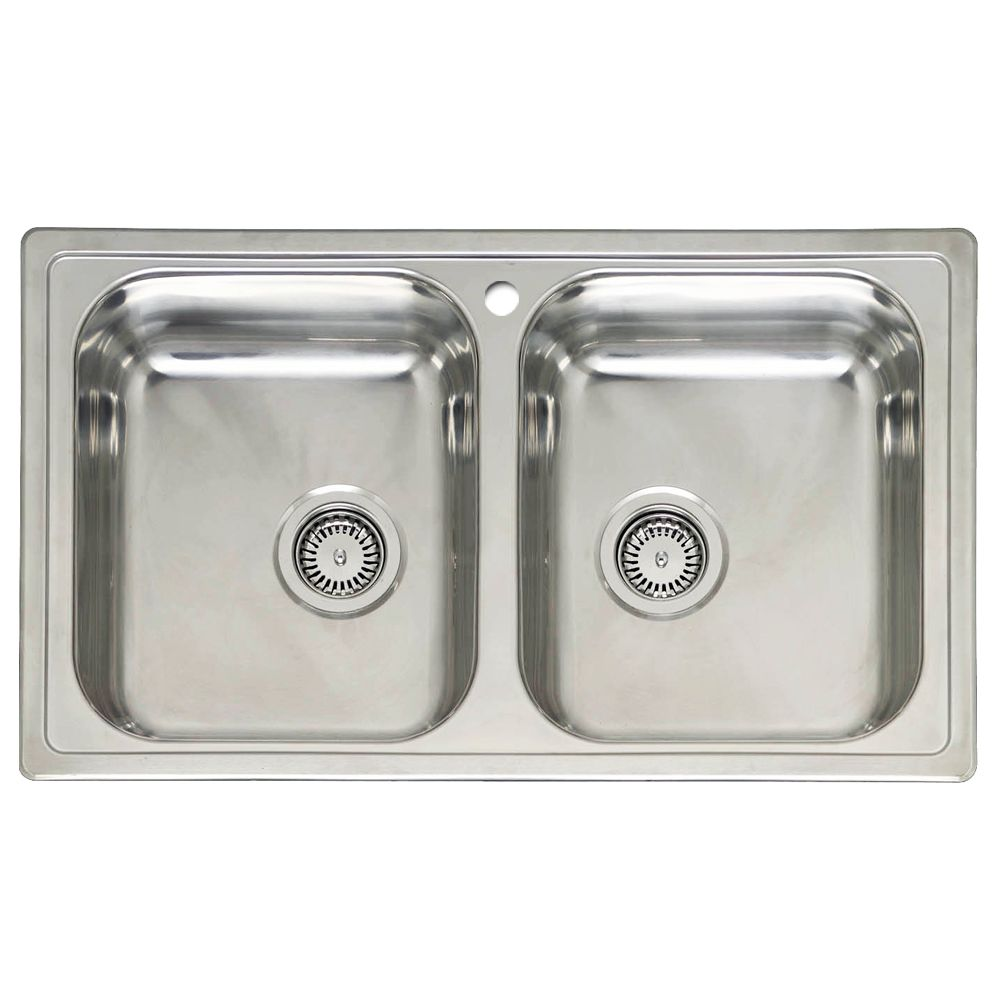 twin bowl kitchen sinks reginox diplomat 20 bowl sink sinks taps 6417