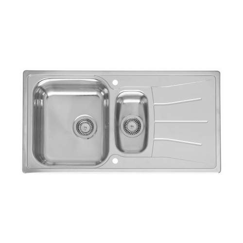 DIPLOMAT ECO 1.5 Bowl Kitchen Sink and Drainer