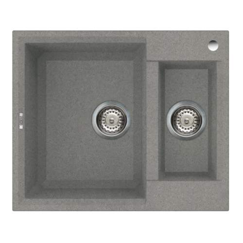 Easy 150 1.5 Bowl Inset Granite Kitchen Sink - Grey
