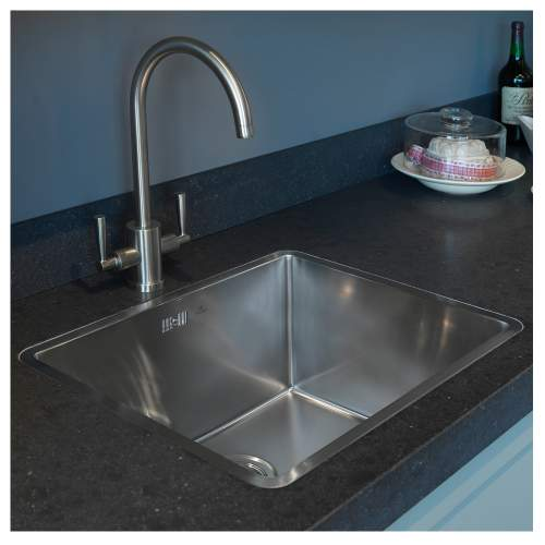 KANSAS 50X40 Single Bowl Kitchen Sink