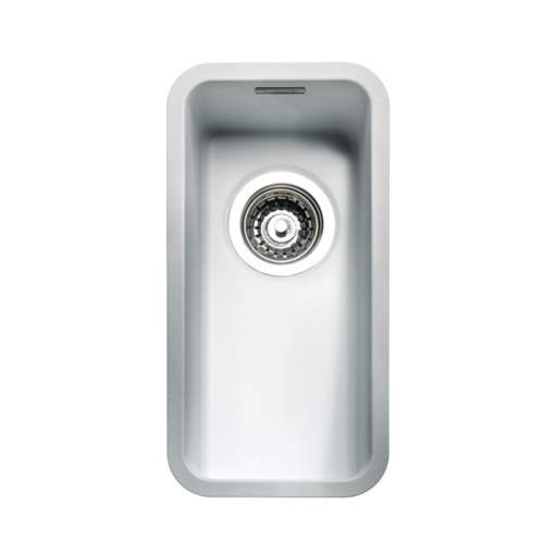 Regi-Color OHIO 18x40 Half Bowl Kitchen Sink - Arctic White