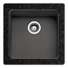 Regi-Color OHIO 40x40 Single Bowl Kitchen Sink - Midnight Sky