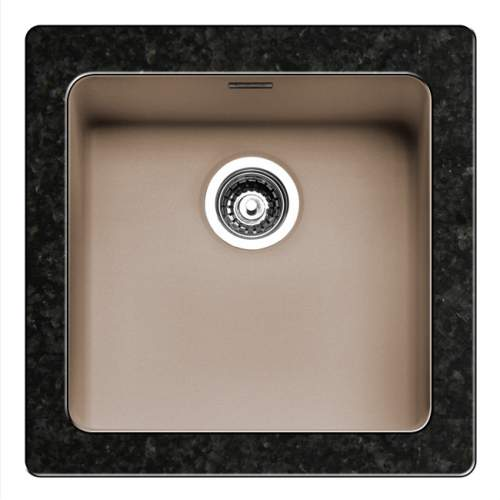 Regi-Color OHIO 40x40 Single Bowl Kitchen Sink - Sahara Sand