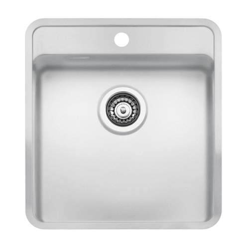 Regi-Color OHIO 40x40 with Tapwing Single Bowl Kitchen Sink - Arctic White