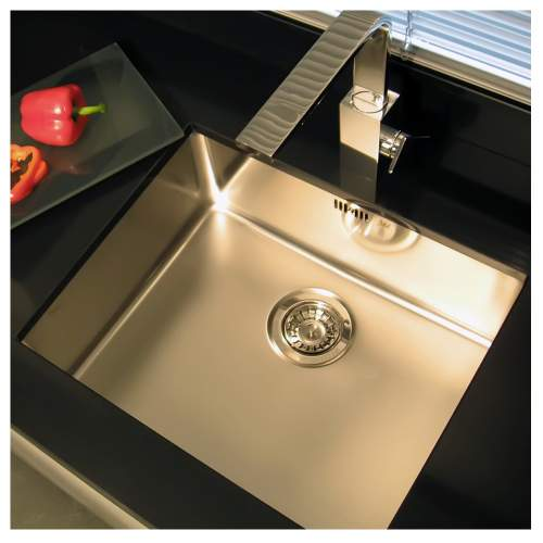 OHIO 50x40 Single Bowl Kitchen Sink - RF603S