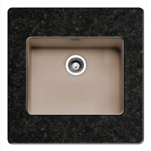 Regi-Color OHIO 50x40 Single Bowl Kitchen Sink - Sahara Sand