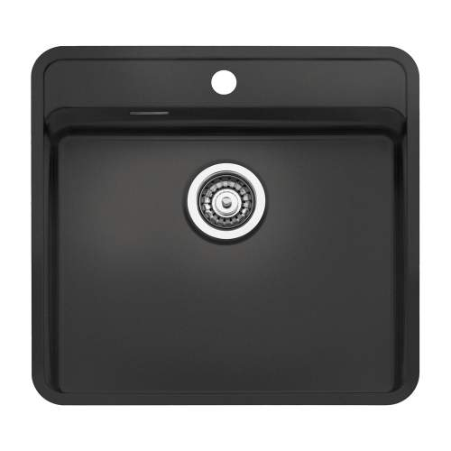 Regi-Color OHIO 50x40 Single Tapwing Bowl Kitchen Sink - Midnight Sky