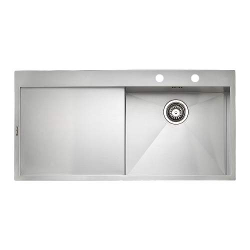 ONTARIO L10 Single Bowl Kitchen Sink & Drainer