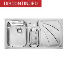 PRESIDENT R 1.5 Bowl Kitchen Sink and Drainer - RL205S