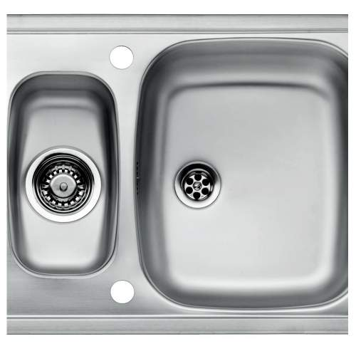 PRINCE R 1.5 Bowl Kitchen Sink and Drainer - RP107S