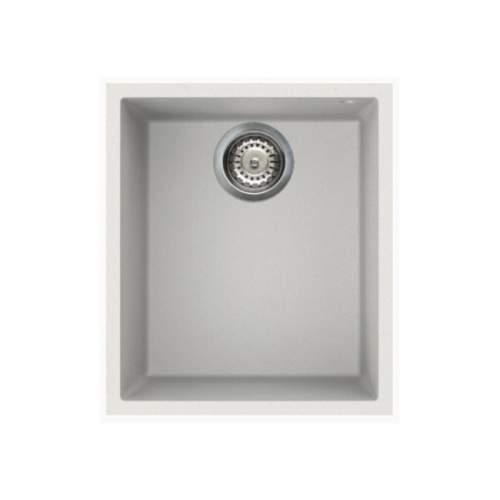 Quadra 100 Undermount Compact Granite Kitchen Sink - White