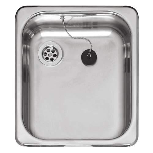 Medium Inset Single Bowl Kitchen Sink