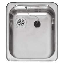 medium inset single bowl kitchen sink - Compact Kitchen Sink