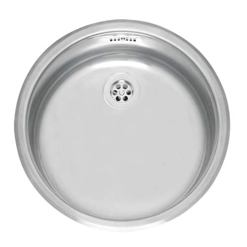 Single Round Bowl Stainless Steel Kitchen Sink - R18 370 OSP