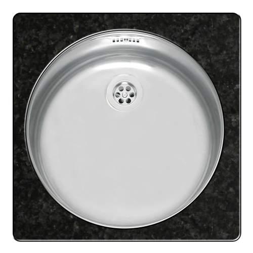Single Round Bowl Stainless Steel Kitchen Sink - R18 370 OSP