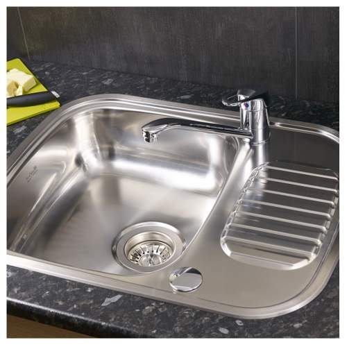 REGIDRAIN Single Bowl Kitchen Sink - RL226S