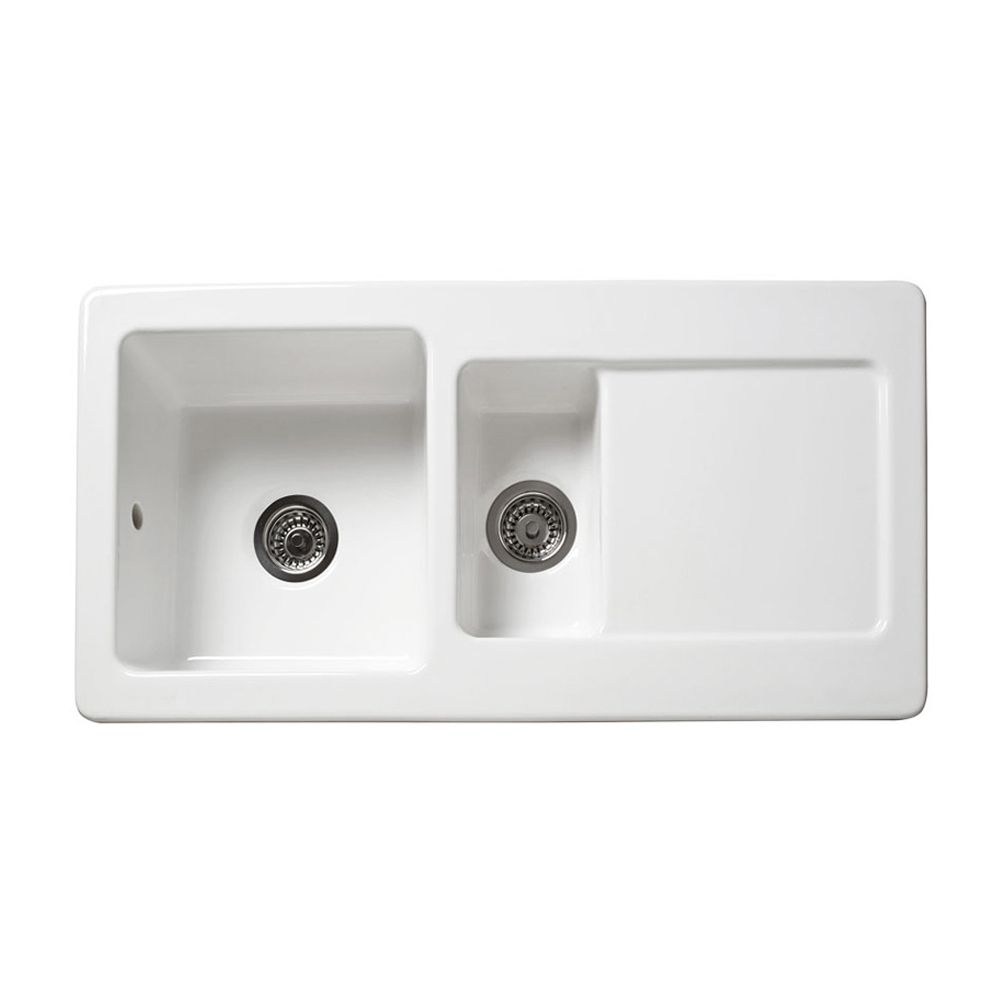 reginox rl501cw 1 5 bowl ceramic sink sinks