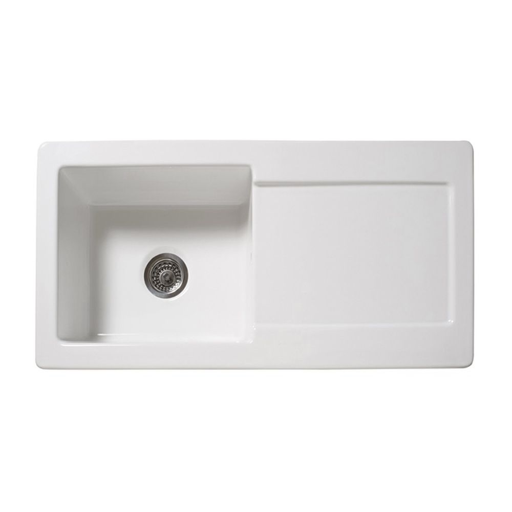 RL504CW Single Bowl Ceramic Kitchen Sink