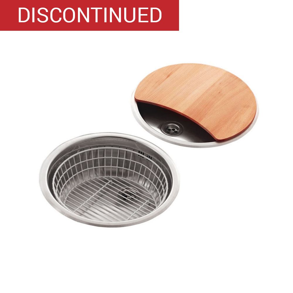 Round Kitchen Sink Drainer