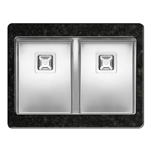 TEXAS 30X40+30X40 2.0 Bowl Kitchen Sink