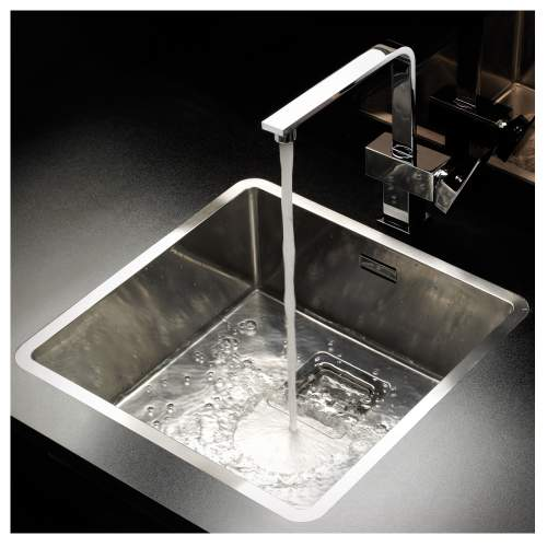 TEXAS 40x40 Medium Bowl Kitchen Sink - RF801S