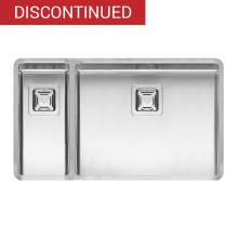 TEXAS 50x40+18x40 1.5 Bowl Kitchen Sink