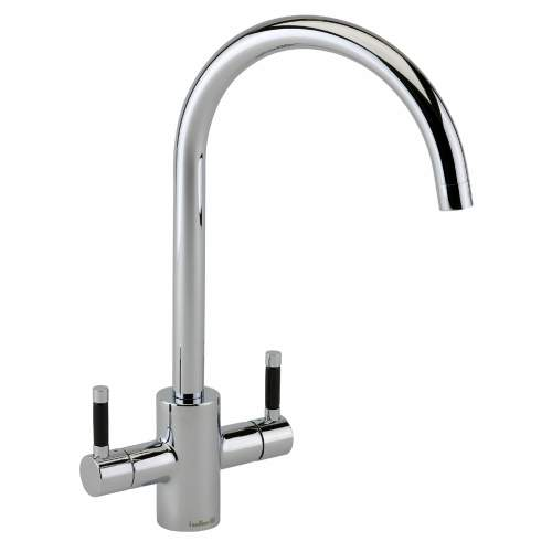 Genesis Twin Lever Kitchen Tap