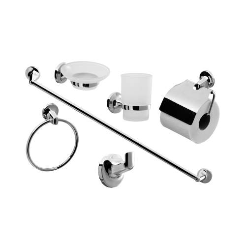 Modern 6 Piece Bathroom Accessories