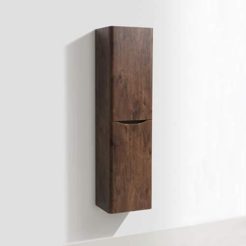 Bali Chestnut Wall Mounted Storage Cabinet