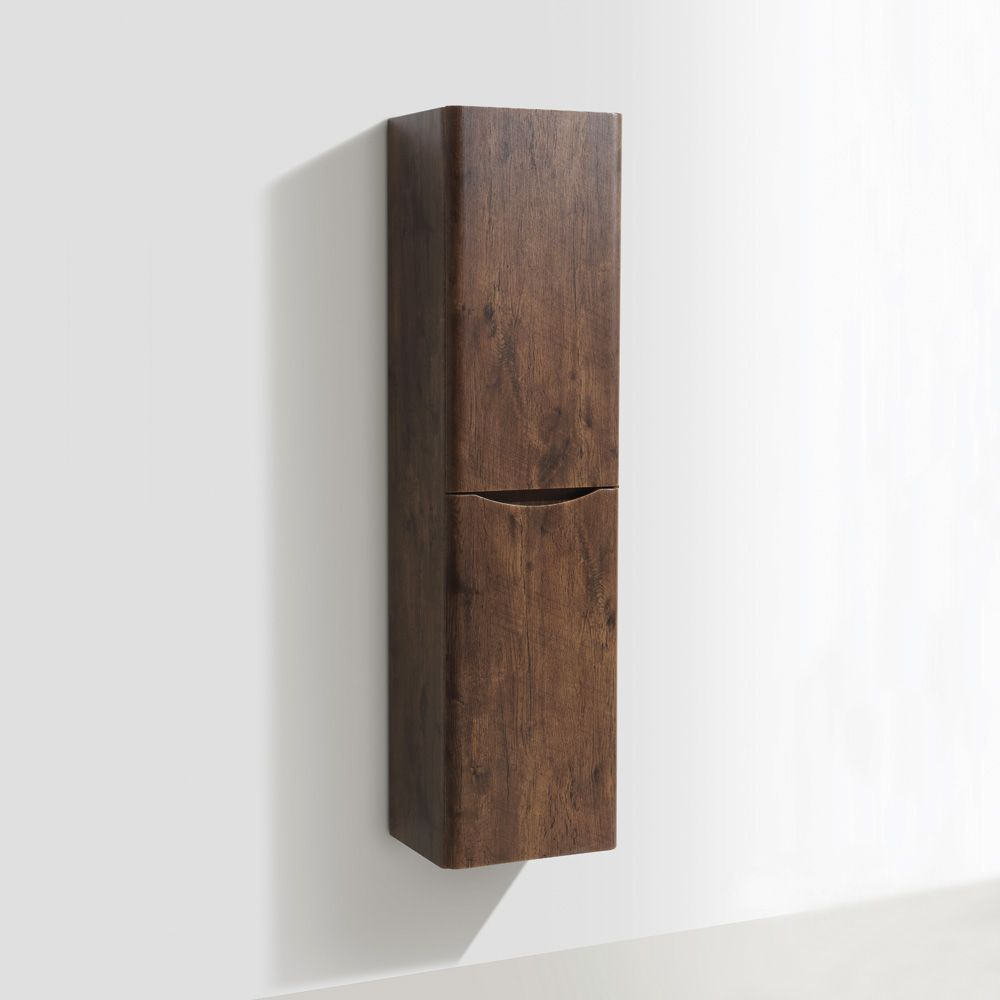 Bali Chestnut Wall Mounted Storage Cabinet Sinks Taps Com