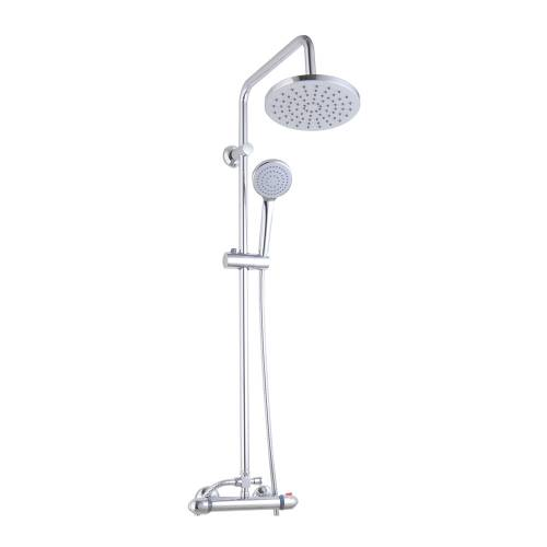 Round Thermostatic Shower Kit