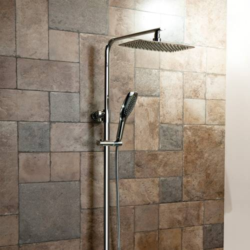 Oval Thermostatic Shower