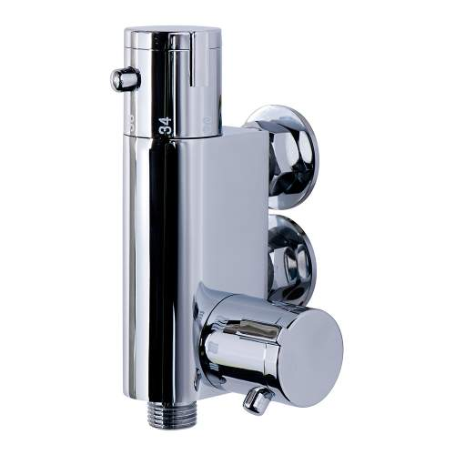 Vertical Thermostatic Bar Shower Valve