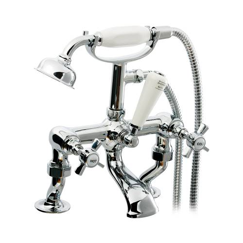 TIME Cranked Bath Shower Mixer