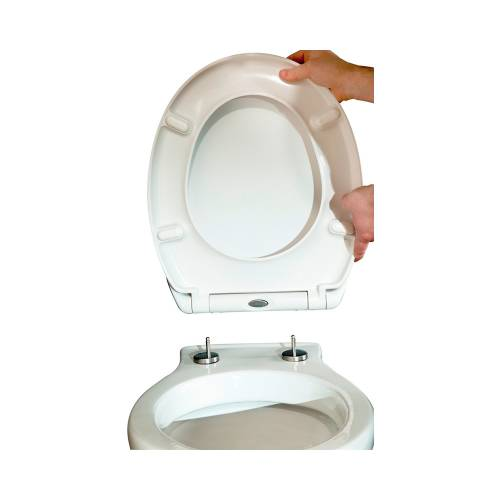 Duroplast Soft Close Toilet Seat with Quick Release