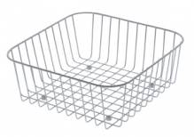 LAOLA 60 Chrome Wire Strainer Basket