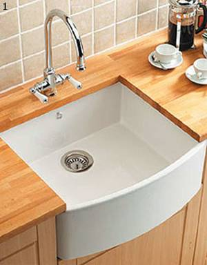 belfast kitchen sink caple pemberley bow fronted belfast sink sinks taps 1577