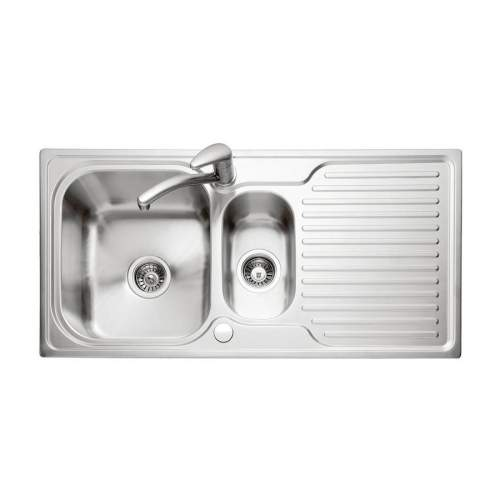 DOVE 150 Stainless Steel Inset Kitchen Sink & Drainer