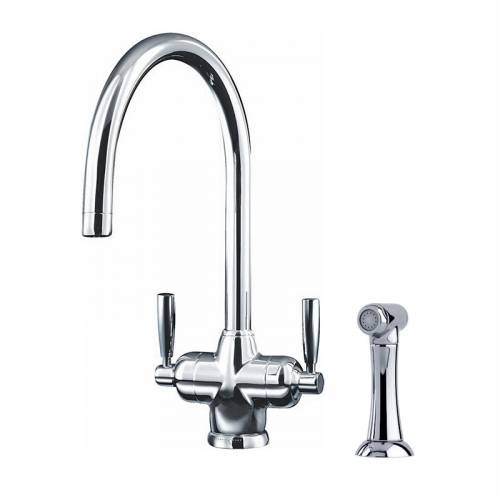 1535 MIMAS Filtration Mixer Kitchen Tap with Rinse