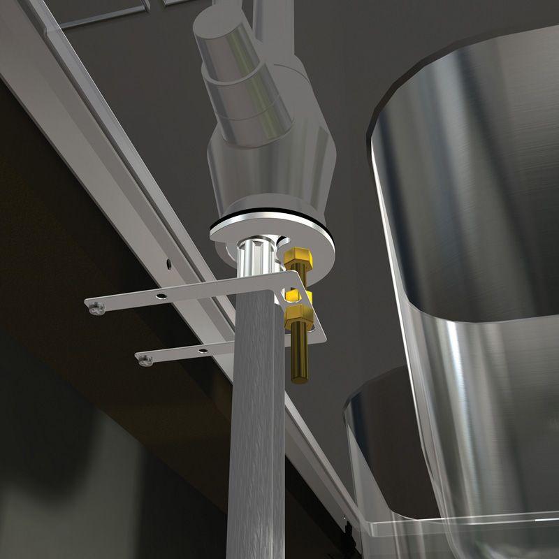 Abode Ax1011 Tap Support Bracket Sinks Taps Com