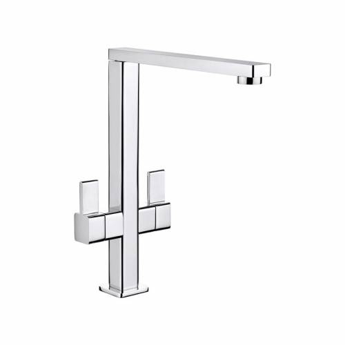 METRIX Twin Lever Kitchen Tap