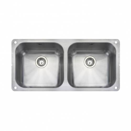 ATLANTIC CLASSIC UB4040 Undermount Kitchen Sink